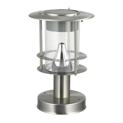 Stainless Steel Solar Post Light Solar Lights Stainless Steel Solar Post Light