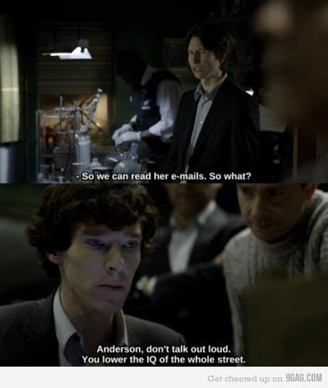 Andersons A Stupid by In Sherlock Quotes Quotesgram