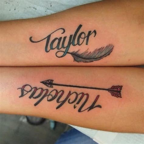 tattoo feather with name 50 unique name tattoos