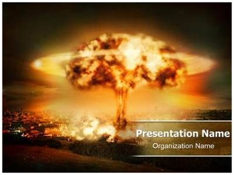 ppt templates for nuclear nuclear bomb explosion powerpoint template is one of the