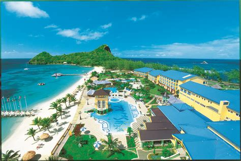 st lucia sandals resorts pin by caribbean travel on st lucia