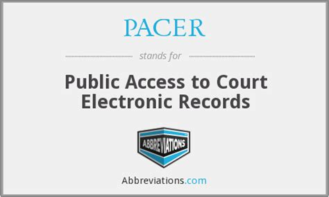 Pacer Court Records Pacer Access To Court Electronic Records