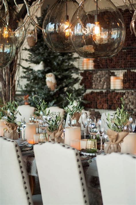 christmas home decorating trends kitchen dining