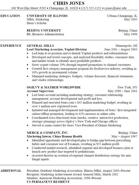 Resume Template Marketing by Pin By Topresumes On Resume