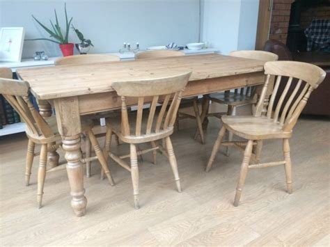 kitchen table pine and chairs for sale in rathmines