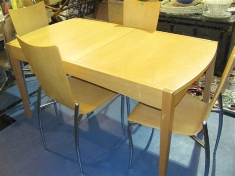 effezeta contemporary dining table chairs