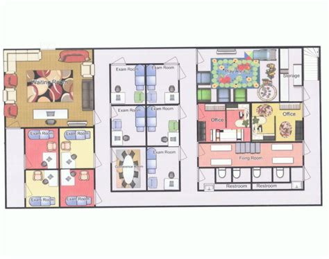 pediatric office floor plans floor plan of office pb j pediatricians