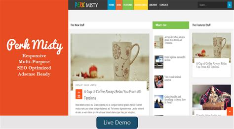 theme blog html blogspot templates responsive blog themes free blogger