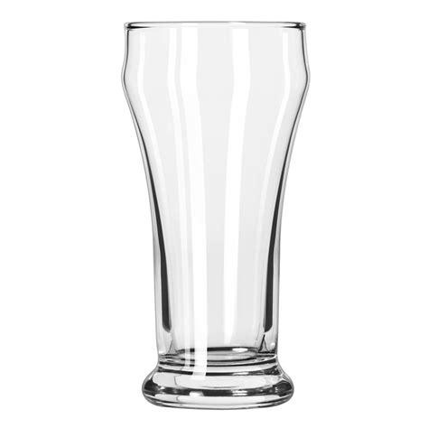 pilsner glass libbey 12 8 oz heavy base bulge top pilsner glass safedge guarantee