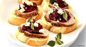 christmas recipes how to make christmas canapes