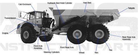 ams construction parts  road truck replacement parts