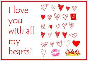 free greeting cards love you