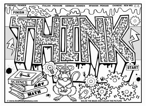 graffiti coloring pages  adults coloring home