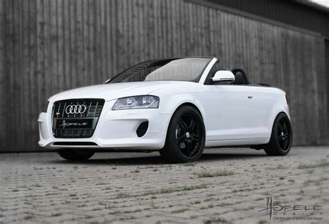 Audi A3 Cabrio Tuning der tuningblogger audi a3 cabrio tuning hofele design