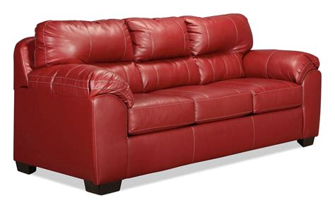 levin furniture sofas rigley queen sleeper sofa red levin furniture