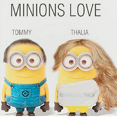 imagenes minions besos thal 237 a quince a 241 os de amor con tommy mottola