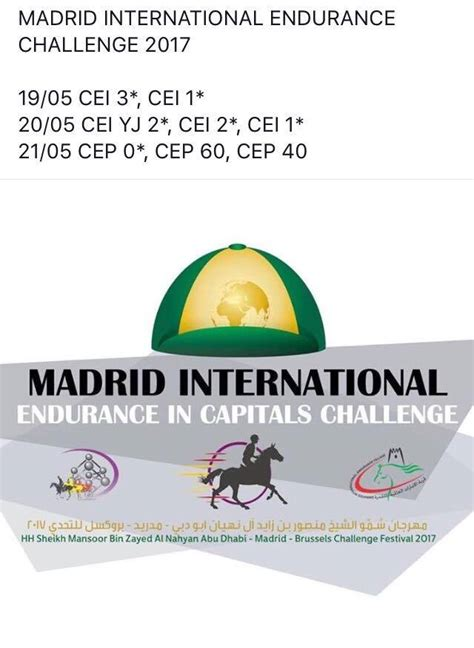 endurance challenge madrid international endurance challenge 2017 raid