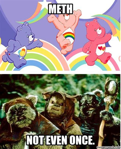 Care Bear Meme - care bear ewok