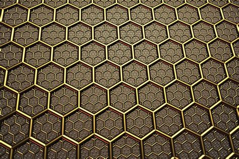 Forest Green Hex free illustration background texture hexagon free