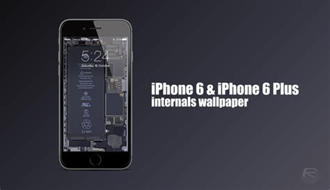 these iphone 6 6 plus internals wallpaper will literally make your device pop