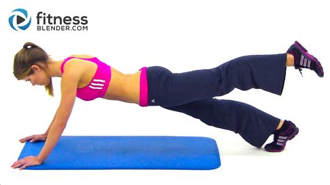 25 minute abs and obliques workout fitness blender