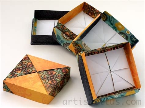 Japanese Origami Box - 134 best origami images on diy origami