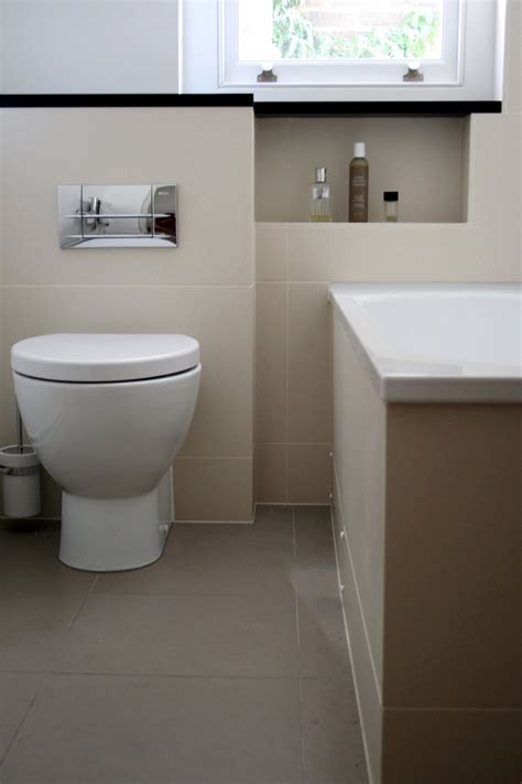 bathroom cisterns back to wall pan with concealed cistern london