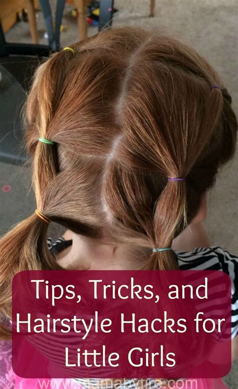 easy hairstyles hair hacks tips and tricks for lazy 46 best advice for moms of tween and teens images on