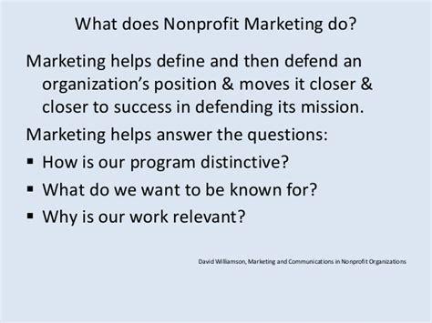 nonprofit marketing fundamentals webinar