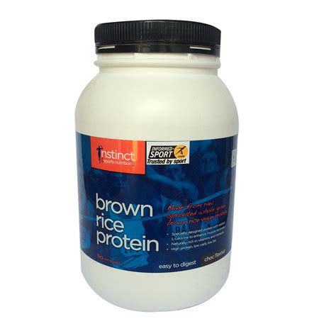 Garden Of Brown Rice Protein Powder Brown Rice Protein Instinct Sports Nutrition