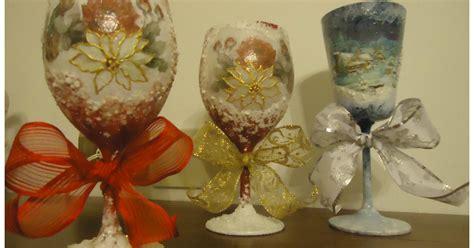 bicchieri natalizi la bottega delle fate creative bicchieri natalizi
