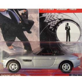 Bmw Z8 Johnny Lightning Bond 007 carros bond bmw z8 do filme 007 o mundo n 227 o 233 o