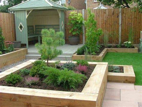 pin  leah rhodes  play  small garden design