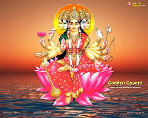 Gayatri At panchmukhi gayatri wallpaper free gayatri maa