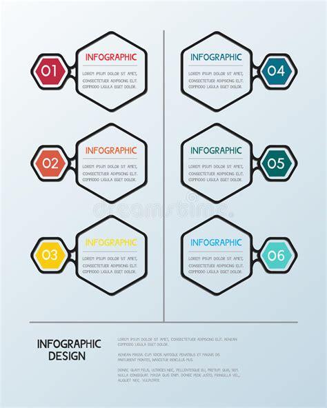 Infographic Hexagon Template Stock Vector Image 52473603 Hexagon Website Template