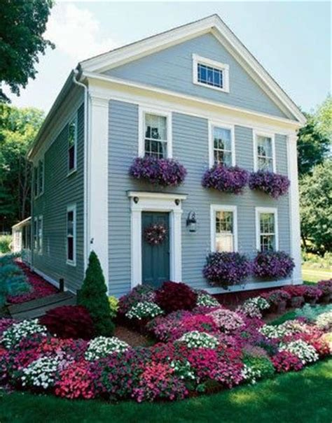 house with window boxes lovely colonial house flower boxes colonial farmhouse