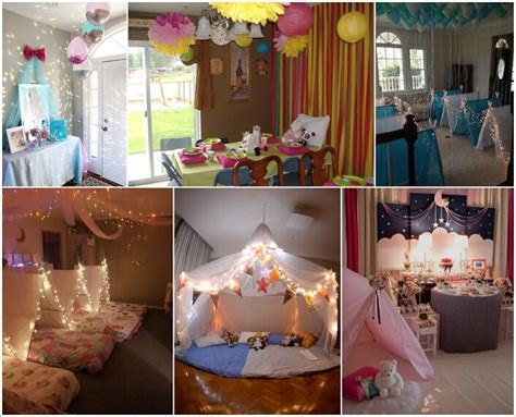 party decorating ideas 10 super cute slumber party decor ideas