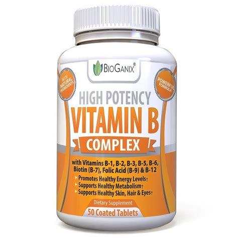 vitamin x supplement vitamin b complex 100 supplement 50ct bioganix