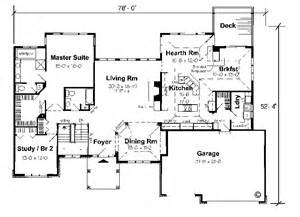 Ranch Floor Plans With Walkout Basement by Ranch Homes With Walkout Basements House Plans And Ideas