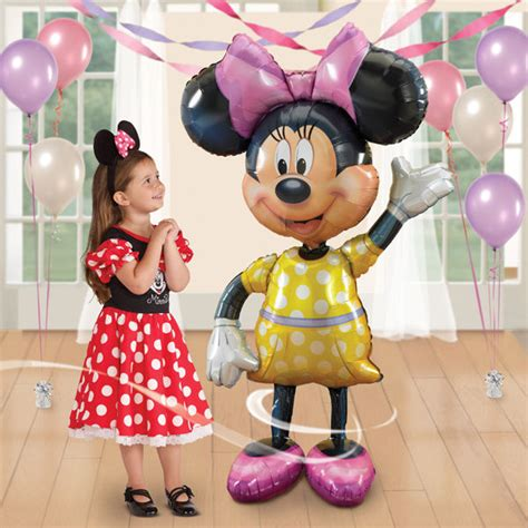 Boneka Micky Mouseminnie Mouse Jumbo minnie mouse 52 quot jumbo airwalker foil balloon