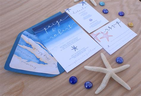 wedding invitation themes water themed wedding invitations wedding invitation ideas