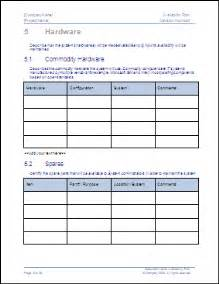 availability plan ms word template