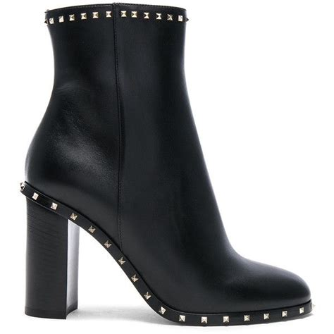 Rockstud Trim Leather Booties best 25 valentino boots ideas on boots