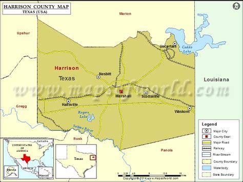 map of harrison county texas harrison county map map of harrison county texas
