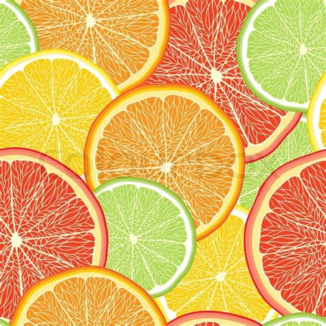 fruit pattern hd abstract color background with citrus fruit of grapefruit