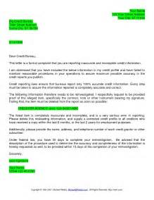 credit dispute letter template best business template