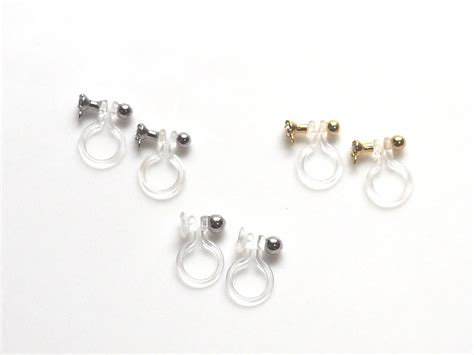 Clip On Earrings Earrings the most sophisticated and painless invisible clip on