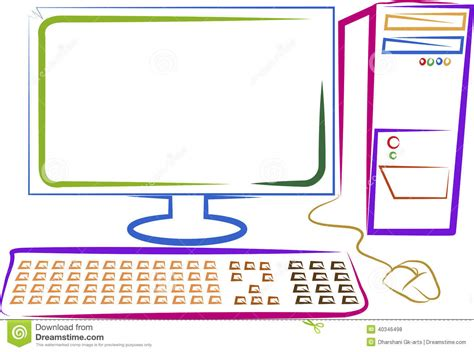 Drawing Computer by Computer Image Drawing Www Pixshark Images