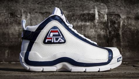 school fila basketball shoes kicks deals official website fila 96 quot grant hill quot white