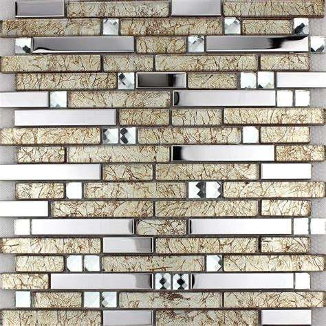 metallic kitchen backsplash wholesale metallic backsplash tiles brown 304 stainless